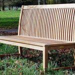 Pardlo 150cm armless teak garden bench 2