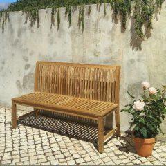 Pardlo 150cm armless teak garden bench