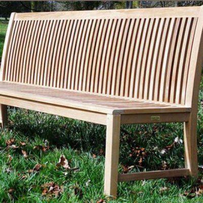 Pardlo 2m armless teak garden bench