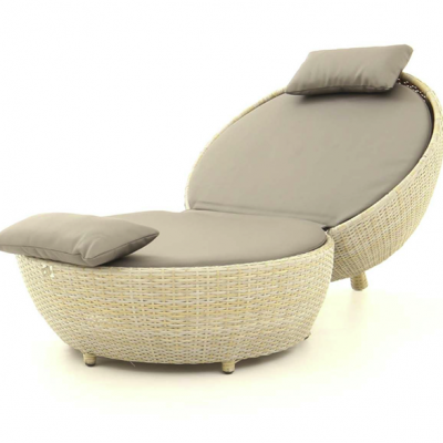 Dartmouth Apple Lounger Front Three Quarter View