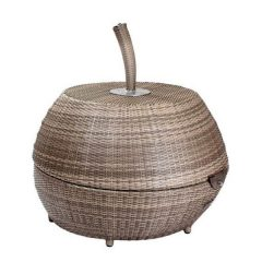 Black Friday Sale Rattan Lounger Chair. Sandbanks AquaMax Outdoor Rattan Apple Lounger ChairClosed