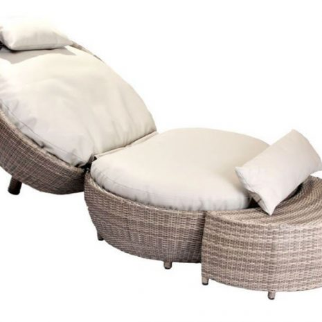 Sandbanks AquaMax Apple Lounger With Optional Side Table or Footstool