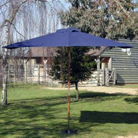 Wainwright 2m x 3m Hardwood Rectangular Garden Parasol