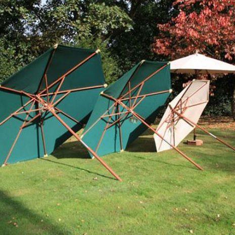 Wainwright 300cm Hardwood Octagonal Garden Parasol