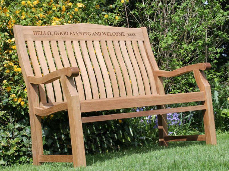 Cool Betjeman 120Cm Sustainable Teak High Back Garden Bench Caraccident5 Cool Chair Designs And Ideas Caraccident5Info