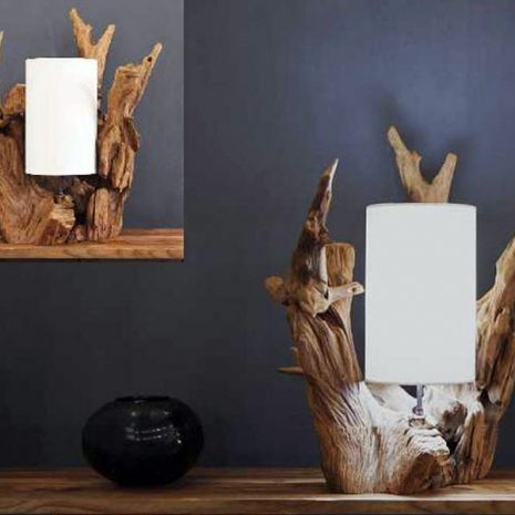 Cocora Reclaimed Teak Root Lamp