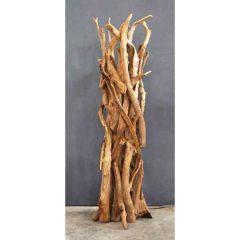 Negara Teak Root Floor Lamp