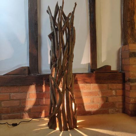 Negara Teak Root Floor Lamp _1