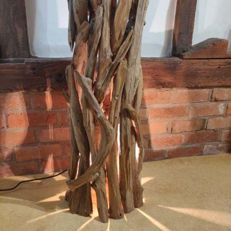 Negara Teak Root Floor Lamp _4