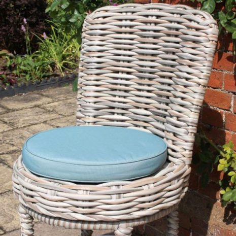 Poole Outdoor Garden Rattan Swivel Bar Chair Seat