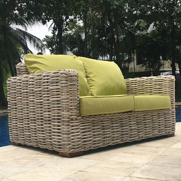 Marvelous Poole 5 Piece Rattan Garden Furniture Suite Sofa 2 Armchairs Extending Coffee Table Side Table Home Interior And Landscaping Synyenasavecom