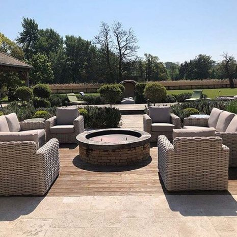 2 Seater Garden Sofa Poole Outdoor Rattan Range Rattan And Teak