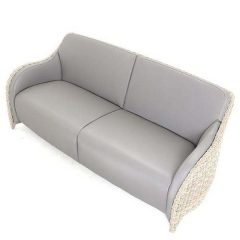 AquaMax Outdoor Rattan 3 Seater Garden Sofa - Dartmouth