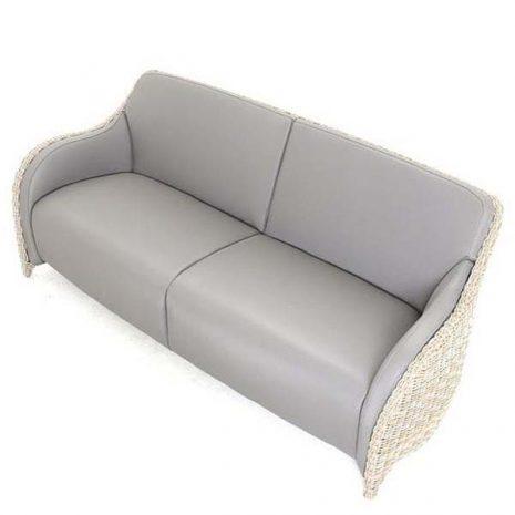 AquaMax Outdoor Rattan 3 Seater Garden Sofa - Dartmouth