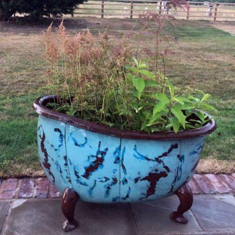 Bathtub Garden Planters & Party Ice Buckets
