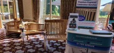 Rattan And Teak stand at the Perfect Brides Show, 2 September 2018, Welcombe Hotel, Stratford upon Avon