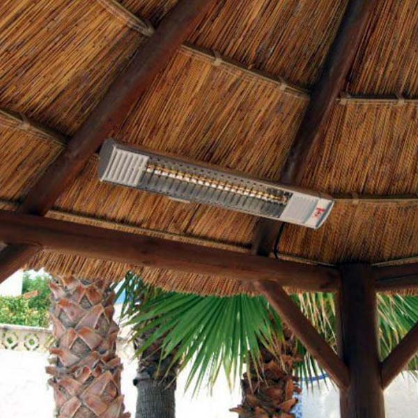 Wall Mounted Patio Heater Remote Control 2Kw Gazebo Use