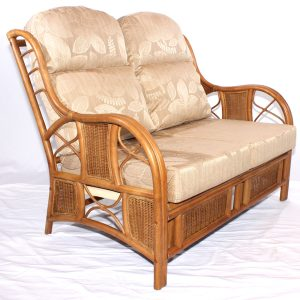Borneo Cane Rattan 2 Seater Sofa