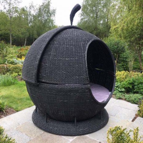 Rye Rattan Garden Apple Day Bed