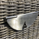 Sandbanks Rattan Storage Box - Lock and Rattan Close Up