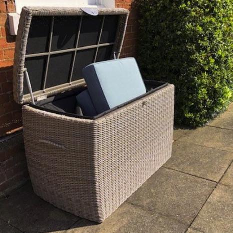 Sandbanks Storage Box with Cushions