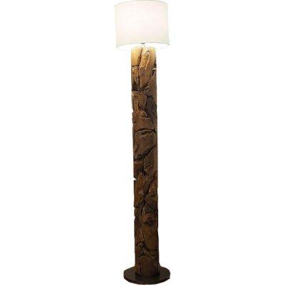 Tijuca Reclaimed Teak Root Floor Lamp Large 200cm
