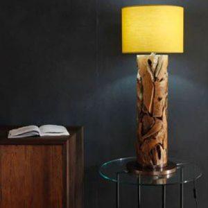 Tijuca Reclaimed Teak Root Table Lamp