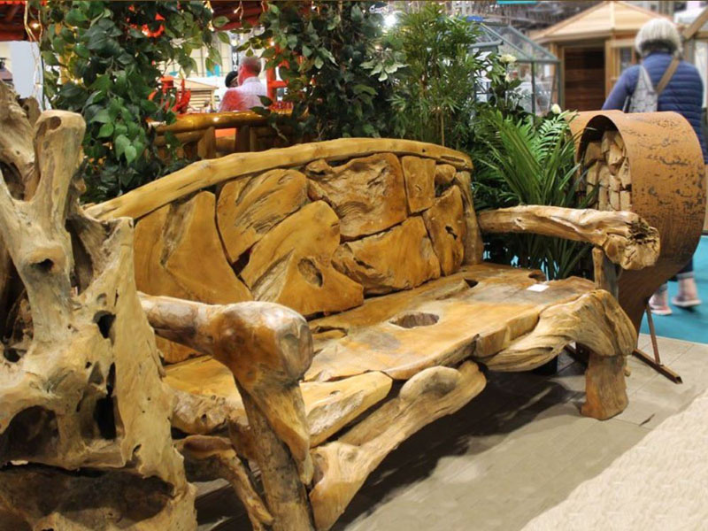 Awe Inspiring Kipling Reclaimed Teak Root Garden Bench Squirreltailoven Fun Painted Chair Ideas Images Squirreltailovenorg