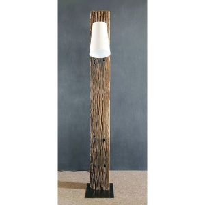 Waipoua Reclaimed Teak Floor Lamp