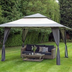 Namib Pop-up Gazebo Grey 4m Square