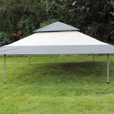 Namib Pop-up Gazebo - Once the canopy is pulled taut you can then raise the height of the legs