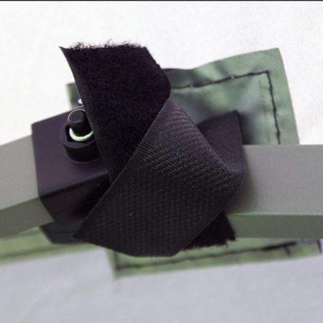 Namib Pop-up Gazebo - easy Velco fastenings and corner reinforcements