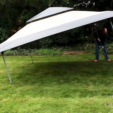 Namib Pop-up Gazebo - simply extend the legs one end at a time