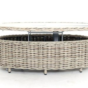Poole Extending Coffee Table Outdoor Rattan