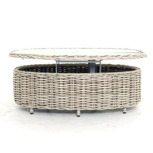 Poole Extending Coffee Table Outdoor Rattan Garden furniture