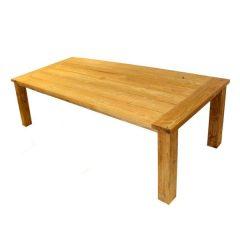 Tennyson Rectangular 200cm Sustainable Teak Table. Tennyson Rectangular 240cm Sustainable Teak Table