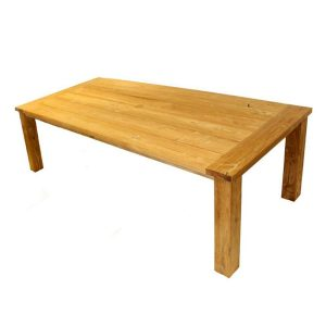 Tennyson Rectangular 200cm Sustainable Teak Table. Tennyson Rectangular 240cm Sustainable Teak Table