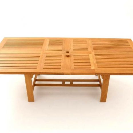 Constable Extending Teak Dining Table 180cm to 240cm