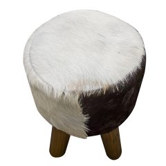 ROUND_GOAT_SKIN_STOOL_TOP