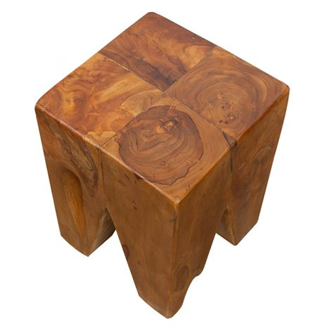 SQUARE_RECLAIMED_TEAKWOOD_STOOL_SIDE TABLE