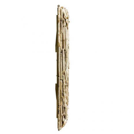 Beachcomber Rectangular Driftwood Sticks Mirror 80cm - Profile