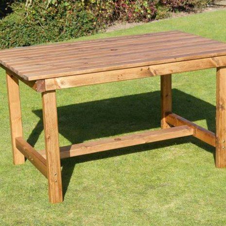 Bronte Medium Rectangular Dining Table 135cm Sustainable Wood