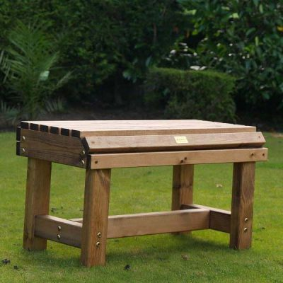 Bronte Small Backless Bench 76cm Sustainable Wood