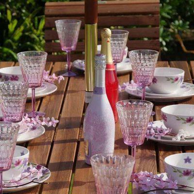 Bronte Medium Rectangular Garden Dining Table 135cm – Sustainable Wood