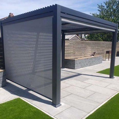 Mojave 300cm x 360cm Aluminium Gazebo with side screens
