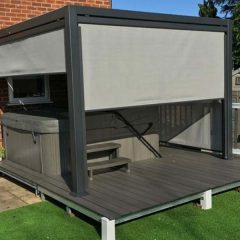 Mojave 350cm x 360cm Gazebo on decking