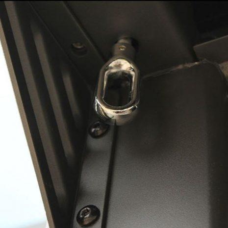 Mojave Metal Gazebo Shutter Opening Mechanism Fixing