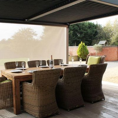 Set of 3 Side Screens for the Mojave Gazebo 350cm x 360cm