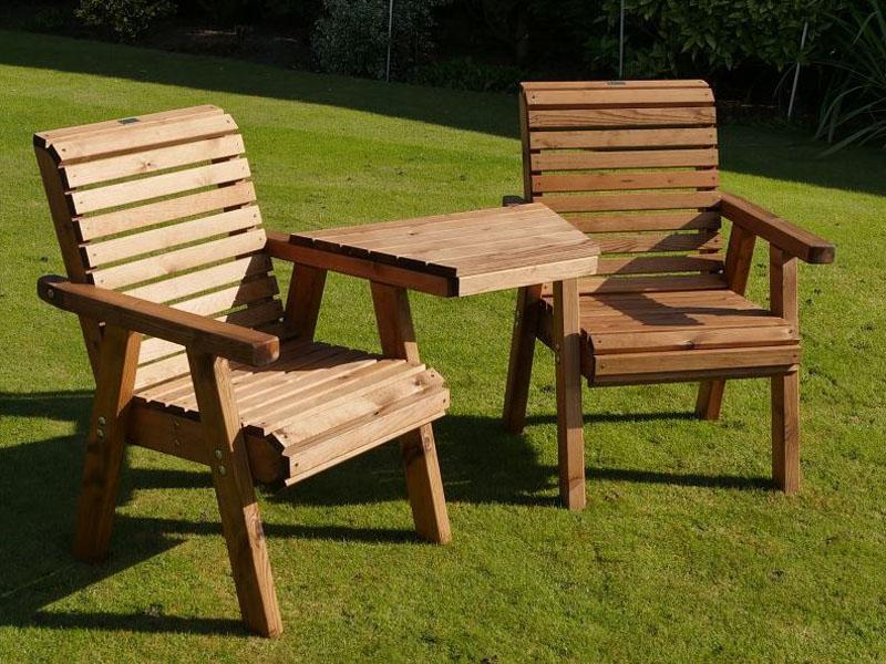 Fine Bronte Wooden Garden Love Seat British Designed Handmade Inzonedesignstudio Interior Chair Design Inzonedesignstudiocom