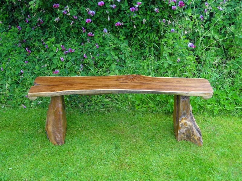 Amazing Bakulan Teak Root Backless Garden Bench 140Cm 2 Seater Squirreltailoven Fun Painted Chair Ideas Images Squirreltailovenorg